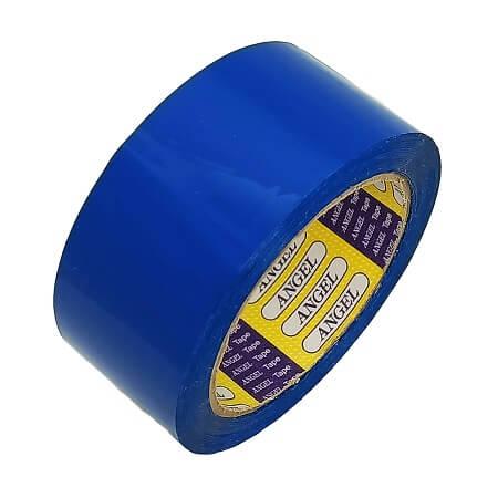 Băng keo màu xanh dương Angel 5F dán thùng (giá sỉ)