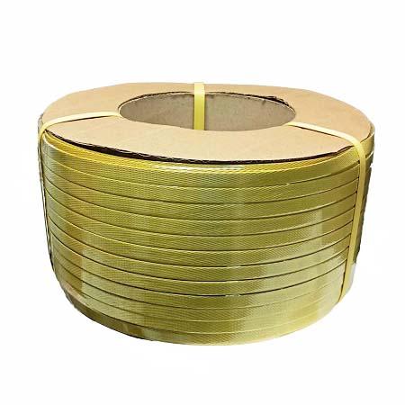 Dây đai PP 1F2 màu vàng dùng để buộc hàng (Giá rẻ)