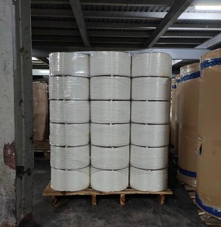 Dây đai nhựa đóng hàng loại mỏng (Màu trắng)