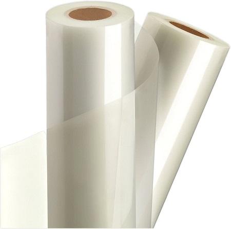 Decal nhựa trong nguyên cuộn dùng trong in ấn ( giá sỉ )