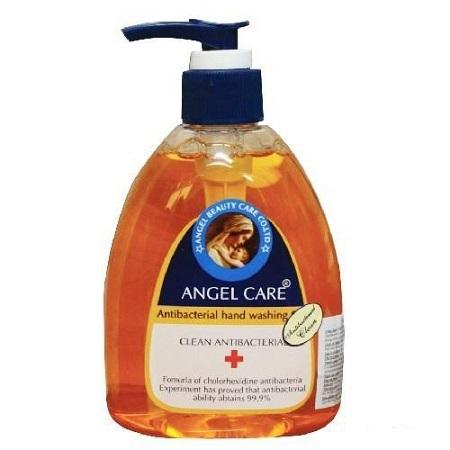 Nuoc rua tay Angel Care giup khang khuan den 99.9 1